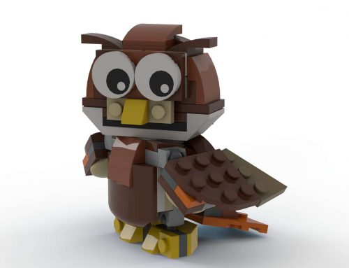 Building an Owl and a Squirrel from the LEGO Creator Park Animals Set