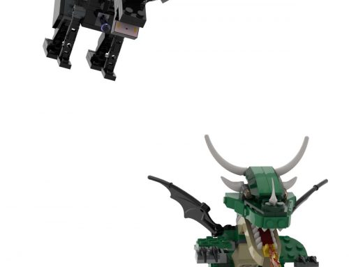 St. Georges Day – Build a dragon with your LEGO!