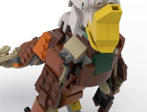 Building alternative models from LEGO Park Animals set 31044