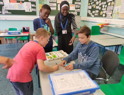 Beyond Blocks at Parallel Youth Wandsworth summer camp
